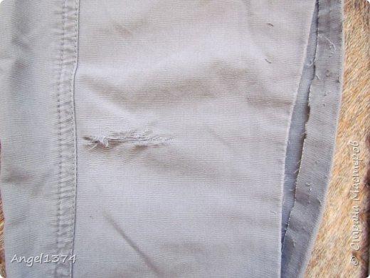 Ремонт джинсовых изделий фото 4
