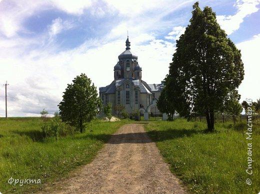 """Село Горышнее Львовской области, по-украински пишется """"Горишнє"""". Стоит там такой храм фото 1"""