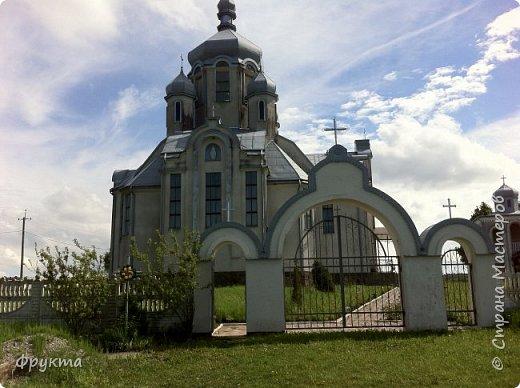 """Село Горышнее Львовской области, по-украински пишется """"Горишнє"""". Стоит там такой храм фото 2"""