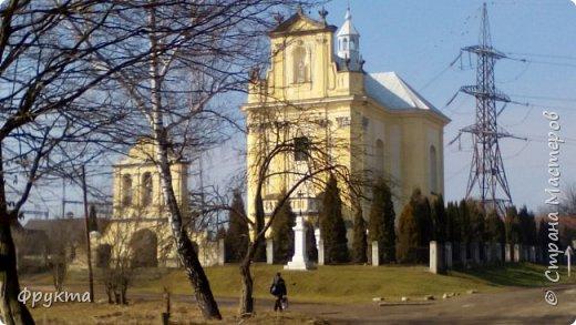 """Село Горышнее Львовской области, по-украински пишется """"Горишнє"""". Стоит там такой храм фото 46"""