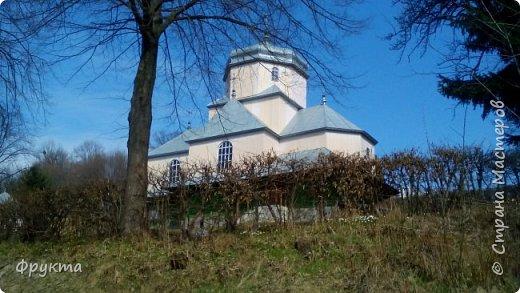 """Село Горышнее Львовской области, по-украински пишется """"Горишнє"""". Стоит там такой храм фото 38"""