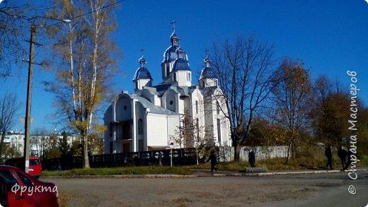 """Село Горышнее Львовской области, по-украински пишется """"Горишнє"""". Стоит там такой храм фото 12"""