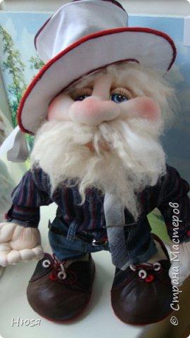 """...""""лёгким движением руки...."""" Дед мороз ...превращается..... Одежда съёмная. Высота :70 см  фото 11"""