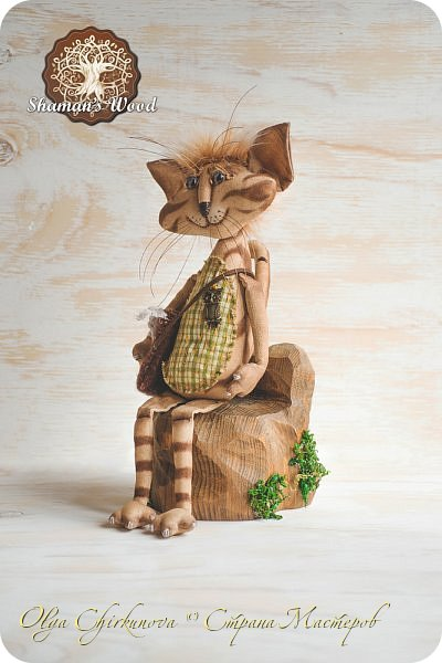 Кот Камышкинс и мышонок Грибочкинс живут в лесу Шамана на Вересковых полях. Они братья, самые настоящие! Однажды мышонка подбросили к дому доброй тетушки Кошки Ниннат и она вырастила прекрасного мыша! Камышкинс занимаемся волшебным Камышовым садом, а Грибочкинс изучает грибы своего леса. фото 11