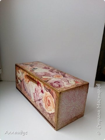 Чайная коробка горизонтальная. фото 3