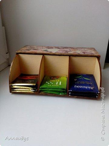 Чайная коробка горизонтальная. фото 5
