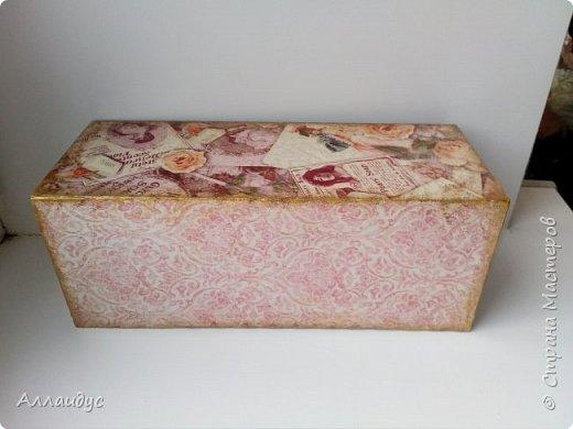 Чайная коробка горизонтальная. фото 2