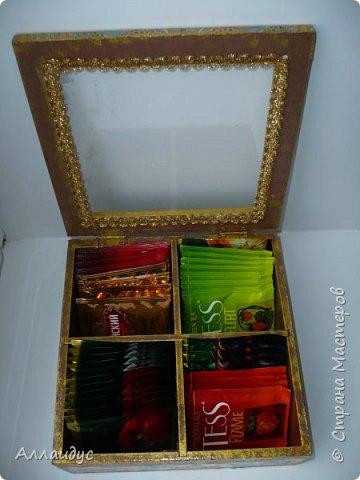 Чайная коробка горизонтальная. фото 7