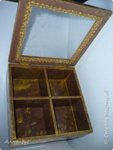 Чайная коробка горизонтальная. фото 8
