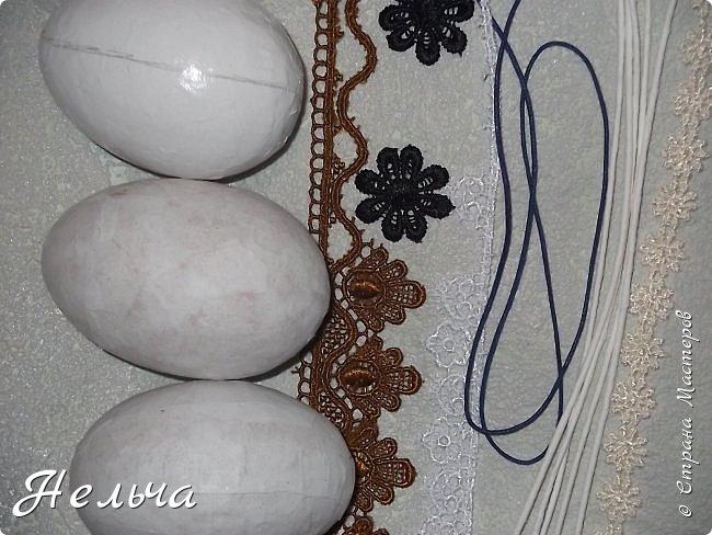 """Еще до Пасхи сделала 6 яичек-заготовочек, а украсить всё некогда было. Сегодня только третье """"добила"""". Выставляю на показ. Ёще три яйца осталось, но их доделаю не скоро.  фото 13"""