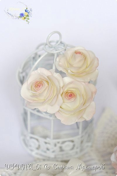 Здравствуйте!  Я как всегда  с фоамирановыми цветами!  Приглашаю к просмотру.  Букет из 15 полноразмерных роз.  фото 14