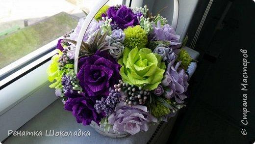 Весенняя крозиночка с цветами фото 1