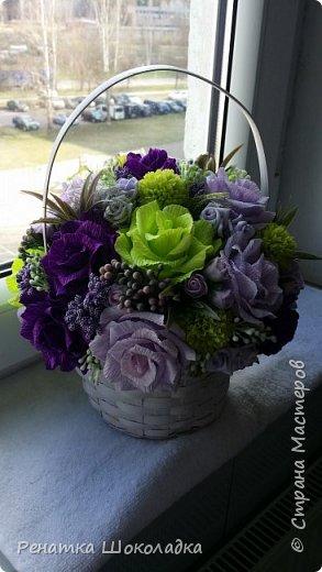 Весенняя крозиночка с цветами фото 2