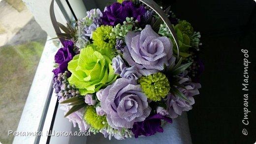 Весенняя крозиночка с цветами фото 3
