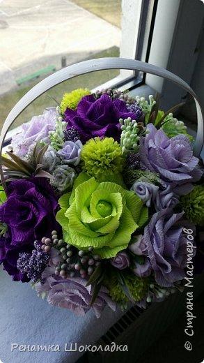 Весенняя крозиночка с цветами фото 4