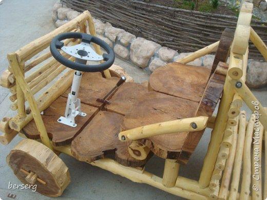 Это наш Быстромобиль. Сделан для детей как начало  к большой игровой площадке фото 4