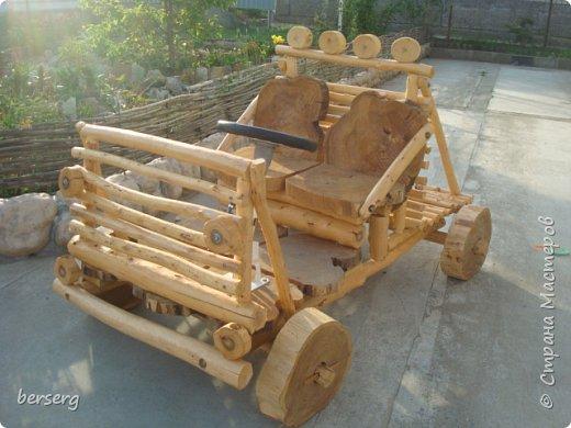 Это наш Быстромобиль. Сделан для детей как начало  к большой игровой площадке фото 1