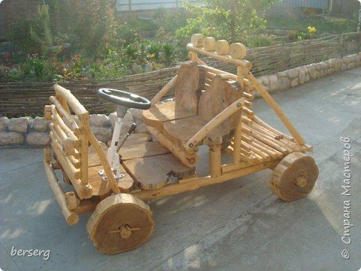 Это наш Быстромобиль. Сделан для детей как начало  к большой игровой площадке фото 3