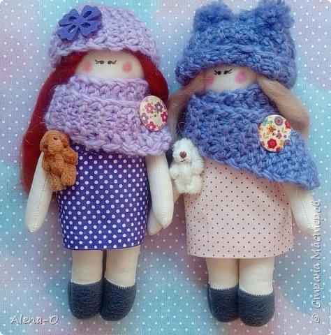 Всем привет! Хочу показать вам вот этих двух малышек)  Какая куколка вам нравится больше?)   фото 1