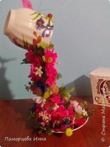 Добрый день жителям ! Хочу сегодня показать вам мои парящие чашки.Фото с разных ракурсов. фото 25
