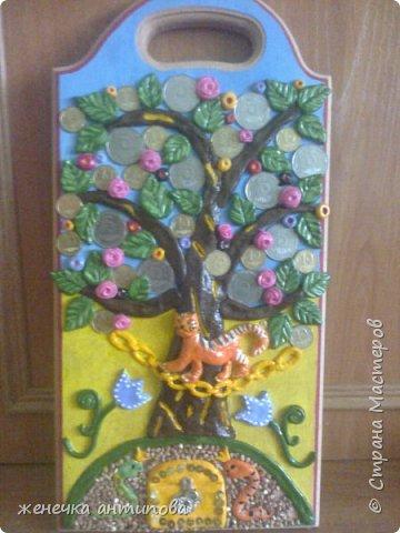 """Денежное дерево или """"У Лукоморья дуб зелёный"""", кому как нравится... фото 1"""