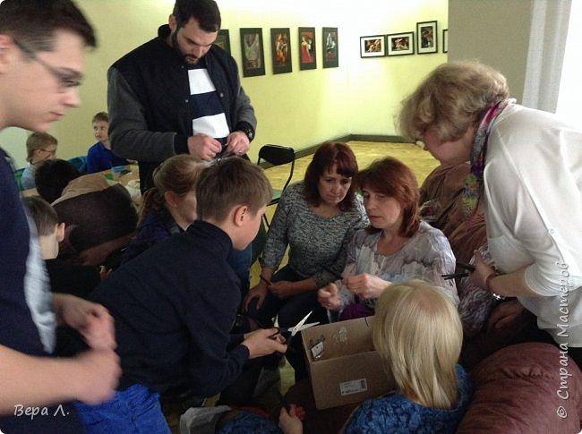 Следующими эстафету приняли Оля Прохорова и Ирина Бин. Моделирование - вещь серьёзная, требует внимательности и усердия. фото 9