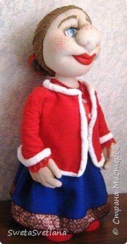 Кукла Матрёна.Рост 55 см. фото 1