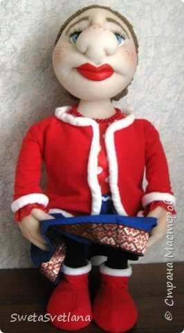 Кукла Матрёна.Рост 55 см. фото 3