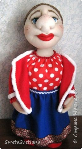 Кукла Матрёна.Рост 55 см. фото 2