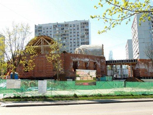 Церковь Троицы Живоначальной в Чертанове (новая) фото 3