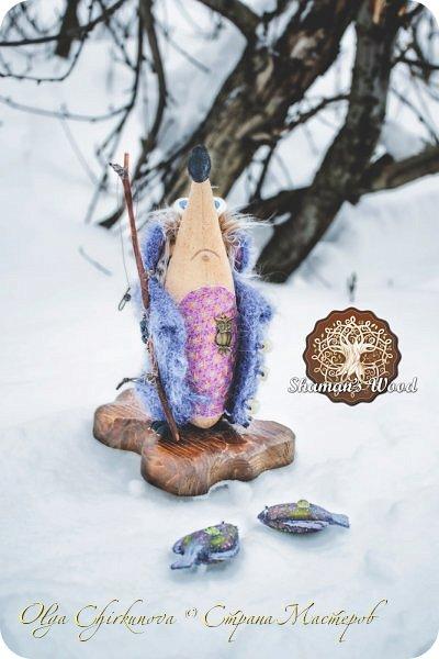 Ежик Гай живет в лесу Шамана в долине Еловых лап. Он торопится на вечеринку в стиле «Алиса в Стране чудес». Любит кушать мох с медовыми пылинками из любимой кружечки. А еще у него есть необычный гриб с горы Ветров! Это гриб Люминор. Кристаллы на шляпке гриба ночью светятся. фото 13