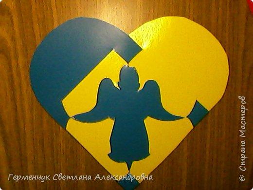 Ангел -переплетение из картона фото 4