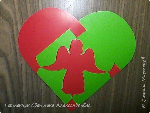 Ангел -переплетение из картона фото 3
