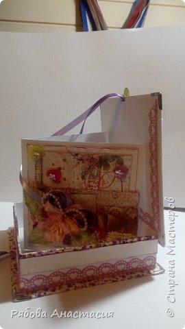 Коробочка с открыткой фото 1