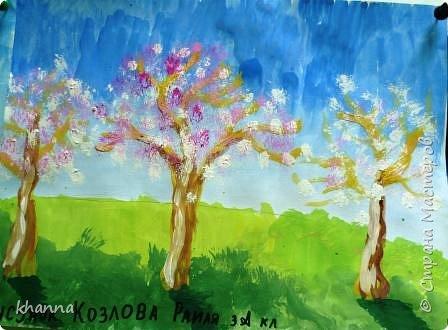 Рисунки выполнены учащимися 3 класса. Автор работы Карина. фото 4