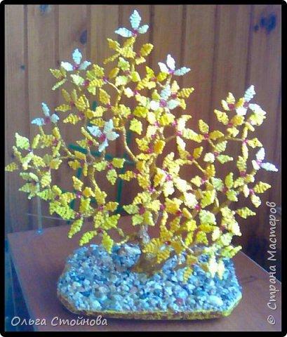 Деревце из бисера фото 2