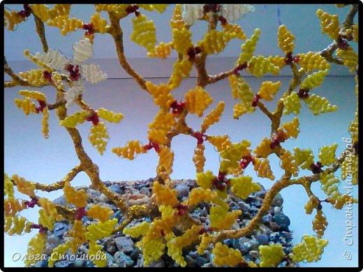 Деревце из бисера фото 4