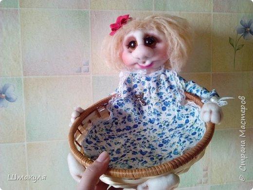Девочка корзиница,сделана на заказ фото 1