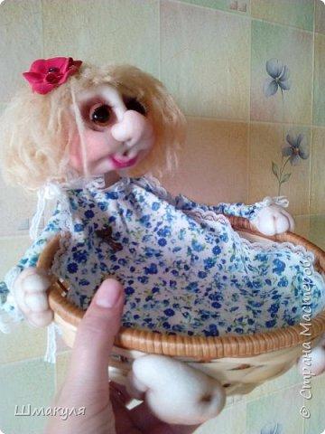 Девочка корзиница,сделана на заказ фото 3