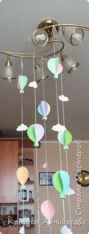 украшение детского праздника - парашюты из бумаги фото 2