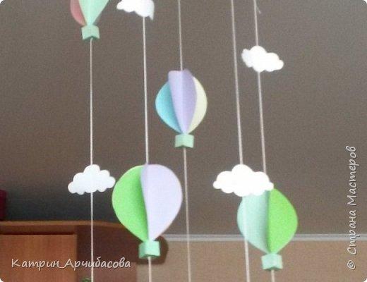 украшение детского праздника - парашюты из бумаги фото 1