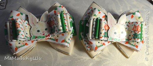 Мои новые бантики для маленьких принцесс. фото 2