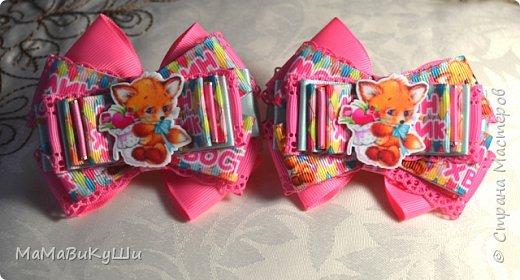 Мои новые бантики для маленьких принцесс. фото 3