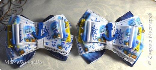 Мои новые бантики для маленьких принцесс. фото 4