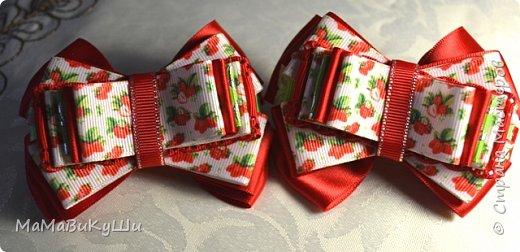 Мои новые бантики для маленьких принцесс. фото 5