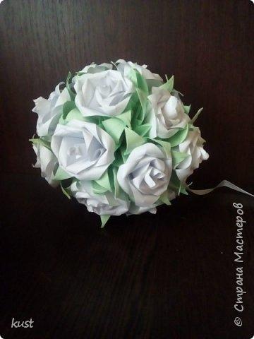 розы делала по этому мк - http://stranamasterov.ru/node/18153 листочки от лилии (ириса) фото 1