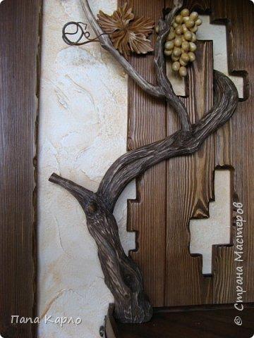 Эту красоту творил мой брат, а я дополнил виноградной лозой. фото 5