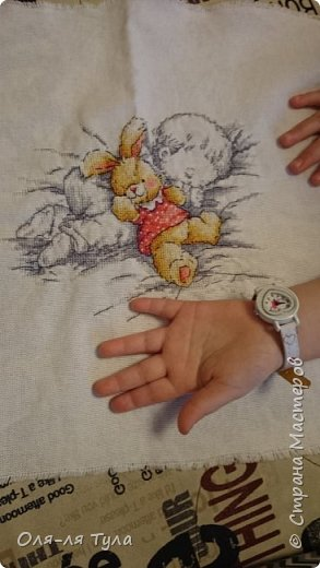 Всем поклонникам вышивки привет!! Вот такой сладкий сон довышивался на канве равномерного плетения. На ней очень красиво смотрится рисунок. Надеюсь вдохновила ;)  фото 3