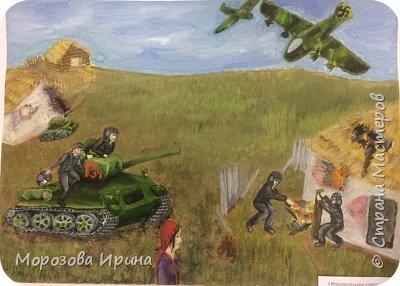 Ивасенко Виктория 12 лет  1 место г.Сочи «Освобождение родной земли»