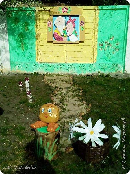 """Сказка """"Колобок"""" на площадке в детском саду фото 1"""